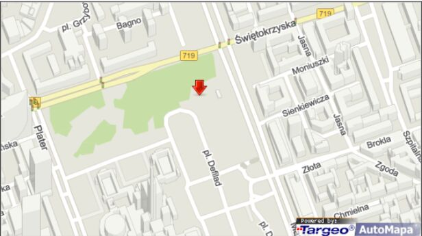 Tu powstanie skwer aktywności miejskiej Mapy Targeo
