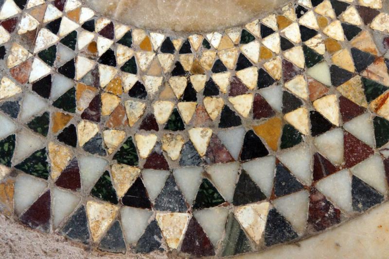 Mozaiki w świątyni Świętego Mikołaja w Demre w Turcji (Shutterstock)