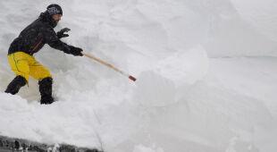 Austria pod śniegiem (PAP/EPA/CHRISTIAN BRUNA)