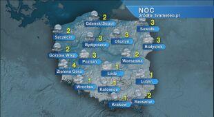 Prognoza pogody na noc 02/03.04